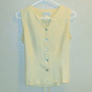 Coldwater Creek sleeveless blouse